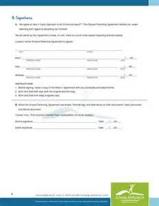 Child Custody Agreement Sample