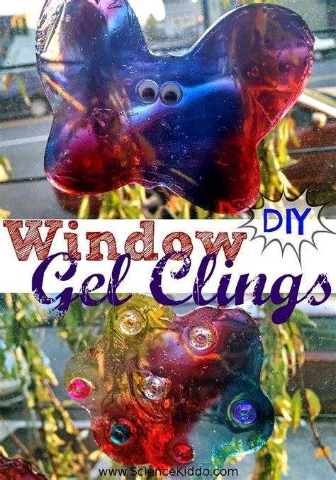 diy squishy window gel clings diy  kids crafts