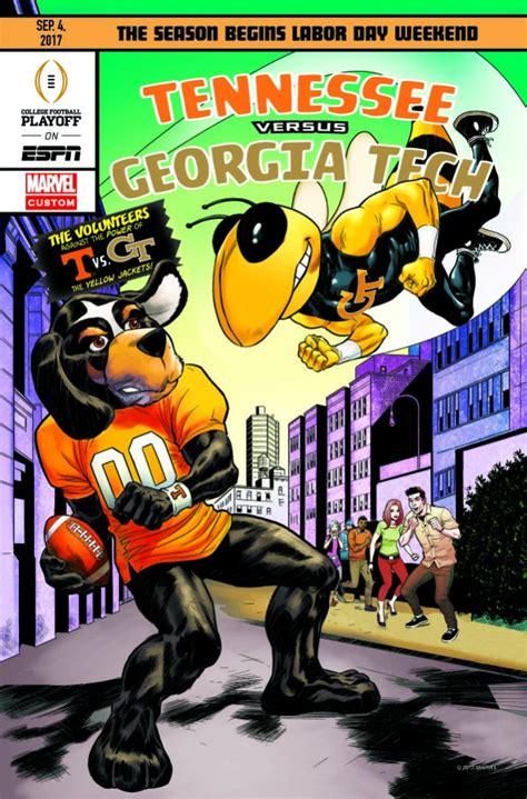 marvel espn present  college football kickoff comic