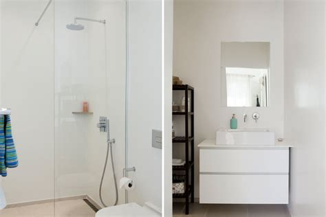 kleine badkamer en suite moderne badkamer ensuite badkamers voorbeelden
