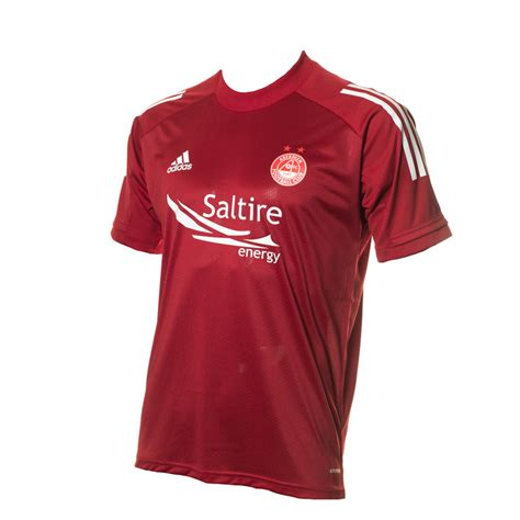 ADIDAS ADULT TRAINING JSY RED - 1st Team Range | Aberdeen FC