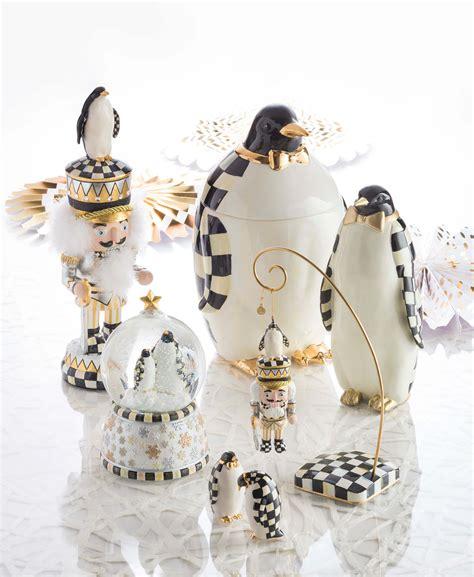 MacKenzie-Childs - Penguin King Nutcracker - Shop Dekado