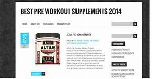 Best Pre Workout Supplements 2014