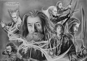 The Hobbit drawing by kansineedegraefart on DeviantArt