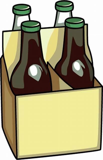 Beer Clipart Bottle Clip Bottles Cans Cartoon