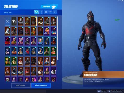 selling black knight mako glider account pc ps