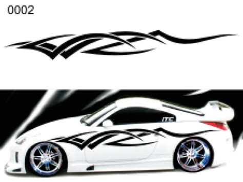 Tribal Style 02 Vinyl Vehicle Graphic Kit