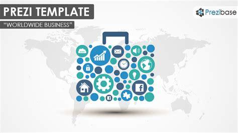 Worldwide Business Prezi Template