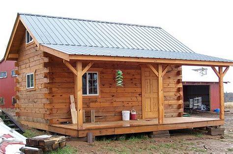 pre built cabins cabin  amish community  pinterest