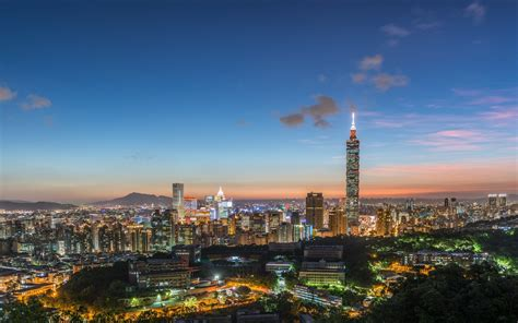 Cityscape Landscape Taipei 101 Wallpapers Hd Desktop