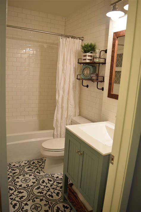 small bathroom remodel subway tile walls merola tile