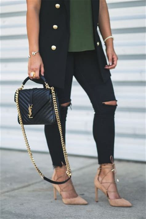 ysl college bag images  pinterest college bags ysl college  couture bags