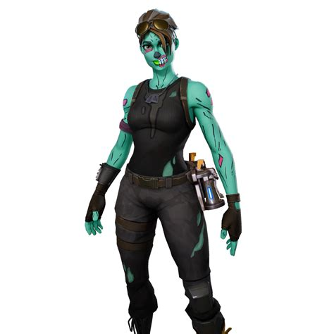 ghoul trooper fortnite outfit skin    info