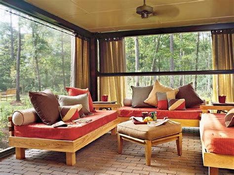 Outdoor Living Room Furniture For Your Patio by Photo 01 Outdoor Patio Curtains Ideas In The Garden