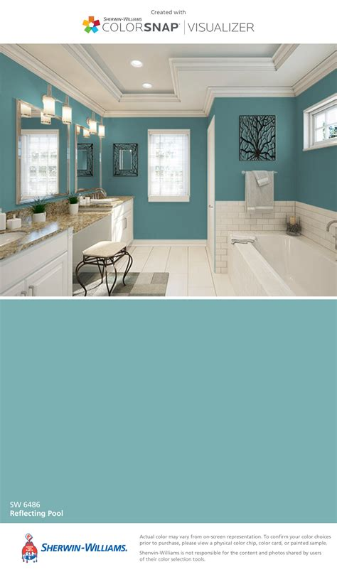 sherwin williams pool paint i found this color with colorsnap 174 visualizer for iphone 5191