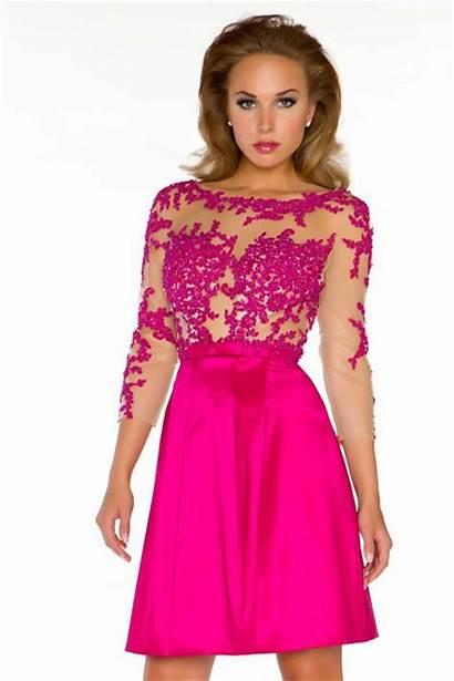 Lace Prom Illusion Short Taffeta Sheer Homecoming