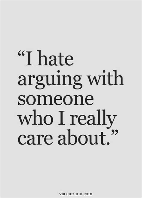 argue with someone you love quotes