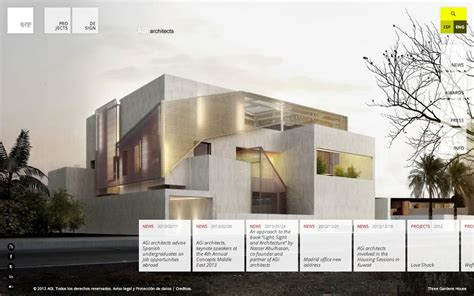 Best Architectural Website by Agi Architects Html Inspiration Html Css Web Design