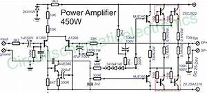 Insider  Transistor 5000w Audio Amplifier Circuit Diagram