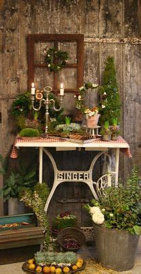 Garden Decoration Courses by Blomsterverkstad Floral Courses Sewing Machine Bases