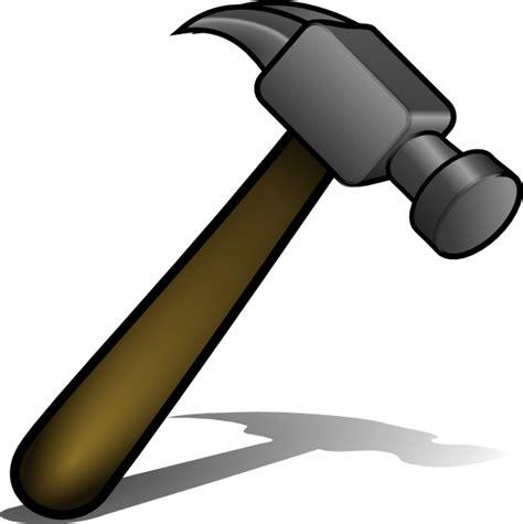 hammer clip art  clkercom vector clip art
