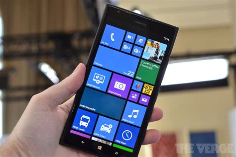nokia lumia 1520 a look at a 6 inch windows phone the verge