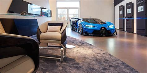 Bugatti has made some of the most coveted cars in history. The Chicago Athenaeum - Bugatti Showroom Concept 2015-2017