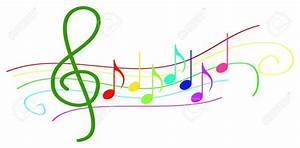 Colorful Music Notes Clipart - ClipartXtras