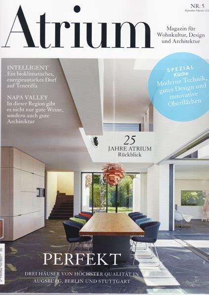 Magazin Für Architektur Und Design by 2013 Atrium Nr 5 Bfs Design