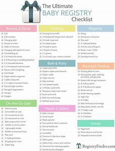 Ultimate Baby Registry Checklist   Baby P's Mama
