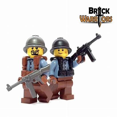 French Smg Suspenders Lego Suivant Brickwarriors Current
