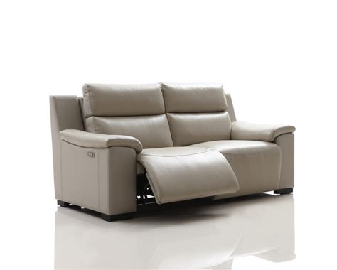 Electric Loveseat Recliner by Buy Slide Leather Electric Recliner Sofa In