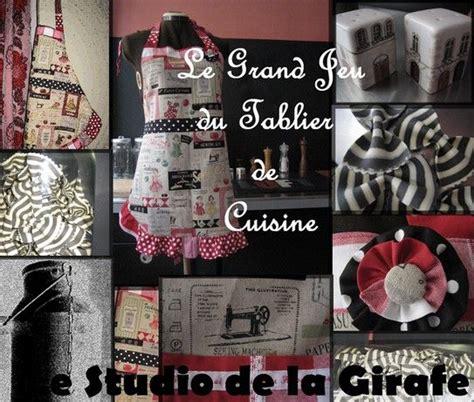comment faire un tablier de cuisine le grand jeu du tablier de cuisine le studio de la girafe