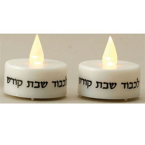 shabbos l light bulb shabbos tea lights battery operated with l e d lights