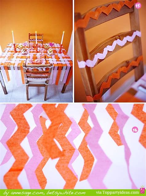 Decorating Ideas With Streamers by 20 Decorating Ideas Using Paper Streamers