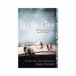 If I Stay (Reprint) (Paperback) by Gayle Forman : Target