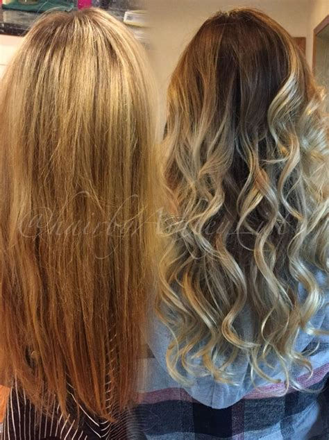 full foil  balayage transition