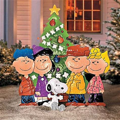 charlie brown gang outdoor brown peanuts outdoor yard decor new outdoor