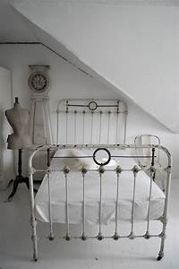 The Beauty of an Antique Iron Bed Frame Lost & Found