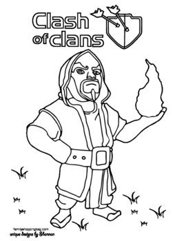 coloring page  clash  clans coloring pages  printable ideas  family shoppingbagcom