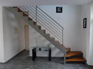 Escalier Bois Intérieur : escaliers ~ Premium-room.com Idées de Décoration