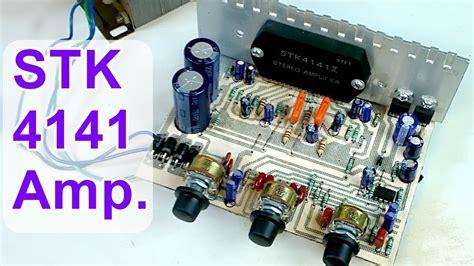Diy Audio Amplifier Board Stk Hindi Electronics