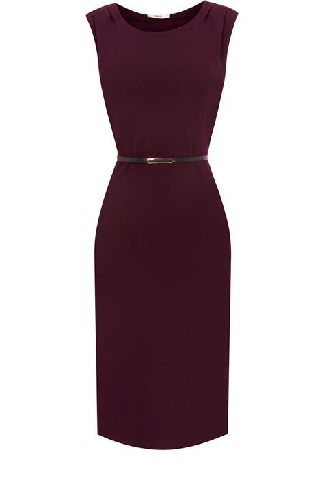 Oasis Bodycon Dress in Purple (dark purple)