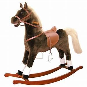 Cheval A Bascule : acheter un cheval bascule en peluche ~ Teatrodelosmanantiales.com Idées de Décoration