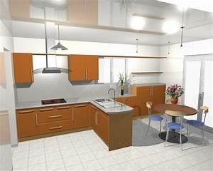 Plan De Cuisine 3d : conception cuisine cuisine en image ~ Nature-et-papiers.com Idées de Décoration