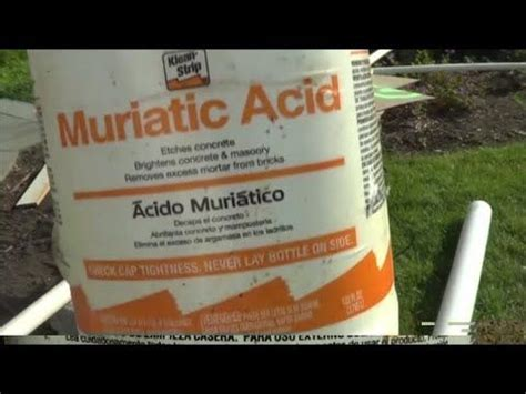 cleaning concrete patio with muriatic acid 183 curated house paint repairs and more ideas by