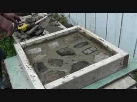 make your own patio pavers with portland cement