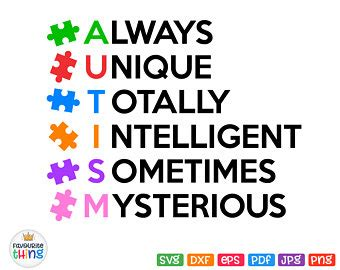 See more of cricut for dummies free svg on facebook. Autism svg quotes   Etsy