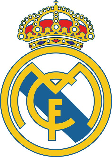 Real madrid's origins go back to when football was introduced to madrid by the academics and students of the institución libre de enseñanza, which included several cambridge and oxford university graduates. Real Madrid Logo Real Madrid Club de Futbol Download Vector
