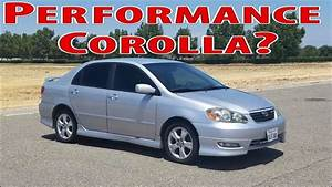 2006 Toyota Corolla Xrs - Not Your Typical Corolla